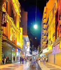 Vuelos a Buenos Aires: paseo por la calle peatonal Florida
