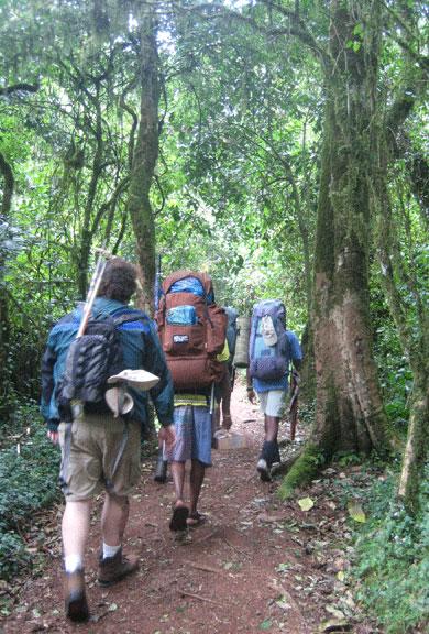 Trekking una alternativa diferente para conocer los países que visitas.