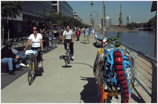 Tour en Bicicleta Por Buenos Aires: Puerto Madero