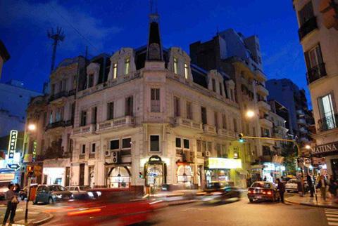 La Recolecta: Edificios Al Estilo Frances.